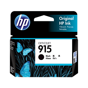 HP 915 Black Original Ink Cartridge