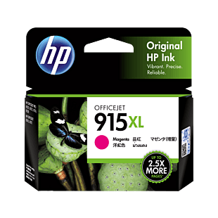 HP 915XL High Yield Magenta Original Ink Cartridge
