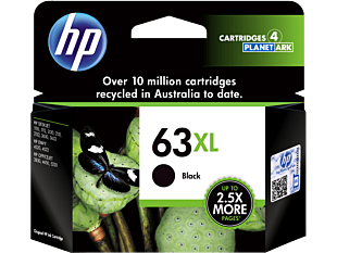 HP 63XL High Yield Black Original Ink Cartridge