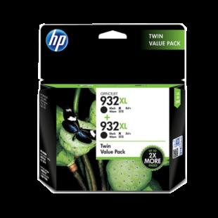HP 932XL 2-pack High Yield Black Original Ink Cartridges