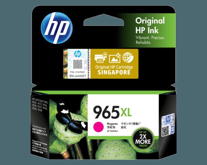 HP 965XL High Yield Magenta Original Ink Cartridge