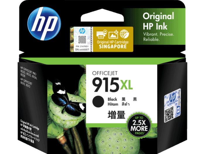 HP 915XL High Yield Black Original Ink Cartridge
