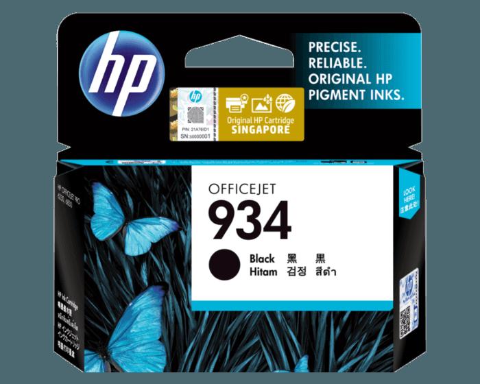 HP 934 Black Original Ink Cartridge
