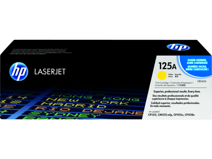 HP 125A Yellow Original LaserJet Toner Cartridge