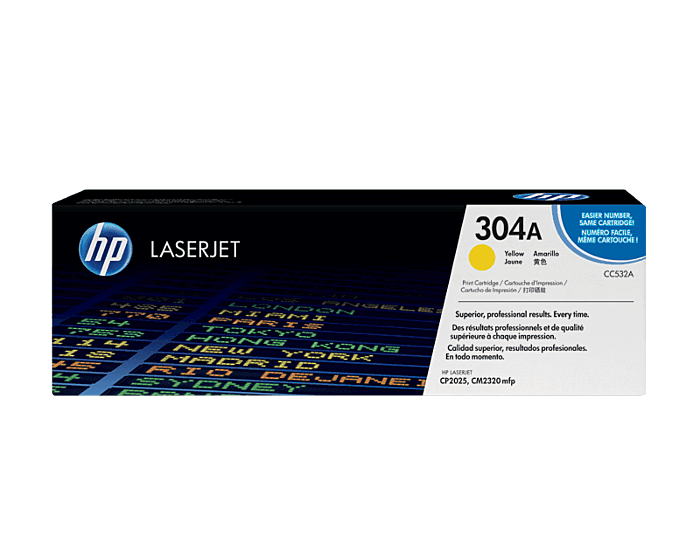 HP 304A Yellow Original LaserJet Toner Cartridge