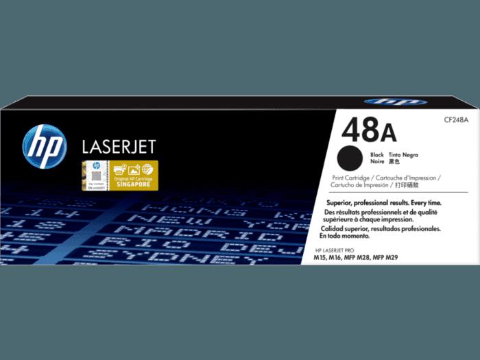 HP 48A Black Original LaserJet Toner Cartridge