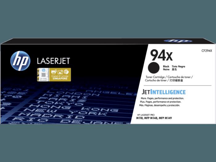HP 94X High Yield Black Original LaserJet Toner Cartridge