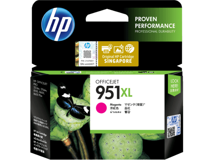 HP 951XL High Yield Magenta Original Ink Cartridge