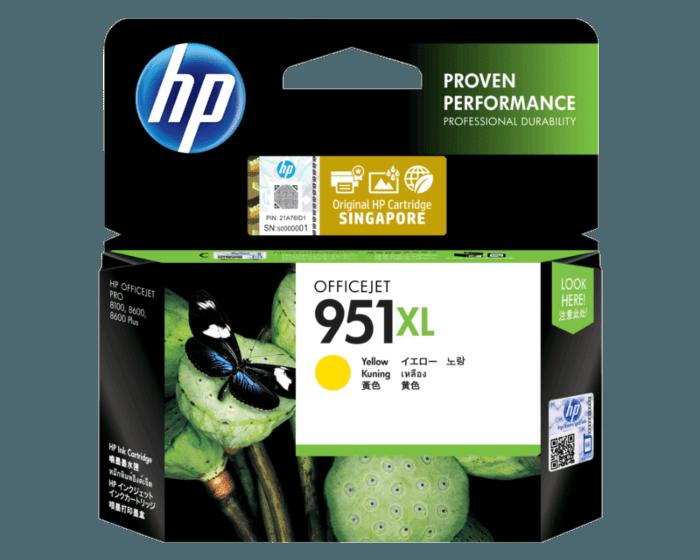 HP 951XL High Yield Yellow Original Ink Cartridge