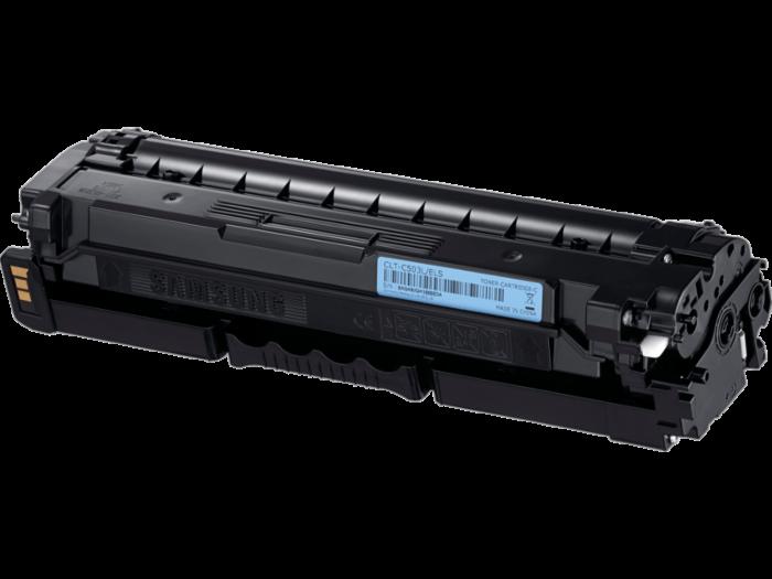 Samsung CLT-C503L High Yield Cyan Toner Cartridge