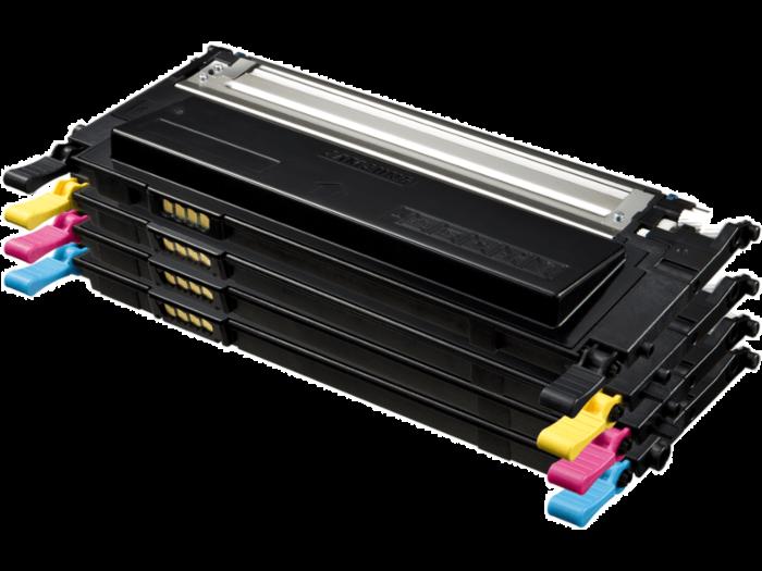 Samsung CLT-P409C 4-pack Black/Cyan/Magenta/Yellow Toner Cartridges