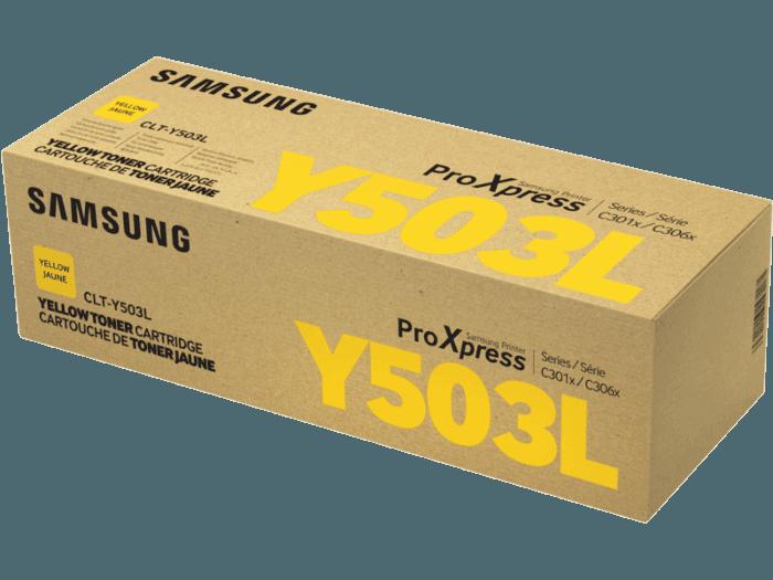 Samsung CLT-Y503L High Yield Yellow Toner Cartridge
