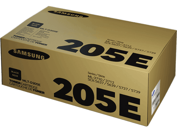 Samsung MLT-D205E Extra High Yield Black Toner Cartridge