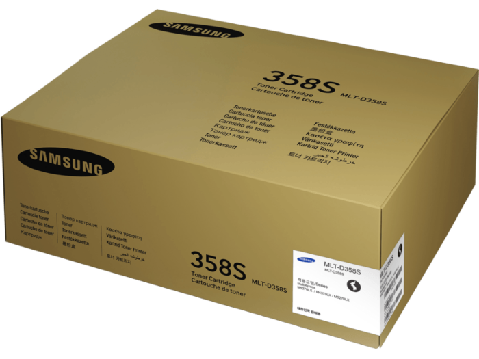 Samsung MLT-D358S Black Toner Cartridge