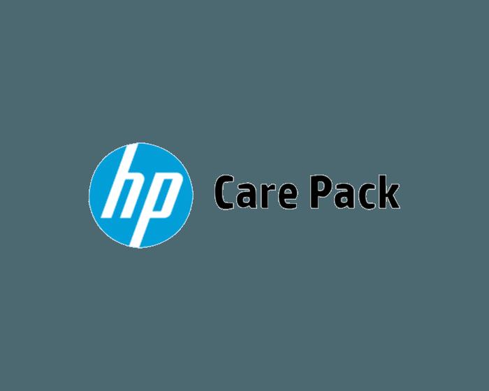 HP 1 year Post Warranty 4 hour 9x5 Service w/DMR for Color LaserJet Enterprise M65x