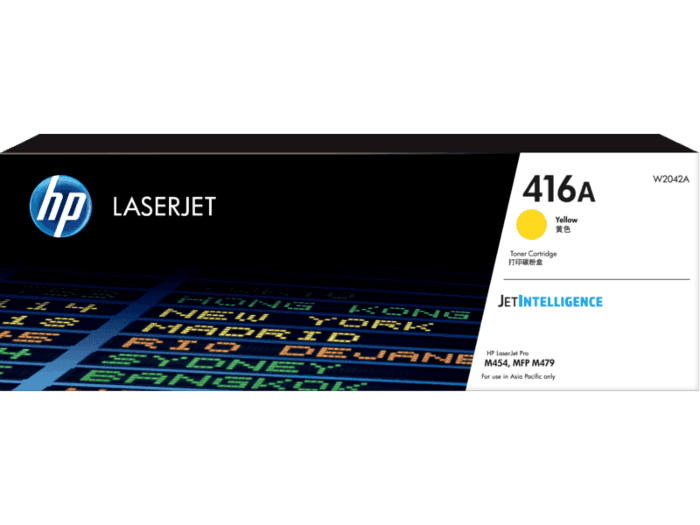 HP 416A Yellow Original LaserJet Toner Cartridge