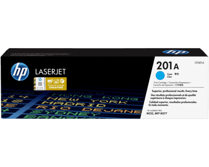 HP 201A Cyan Original LaserJet Toner Cartridge
