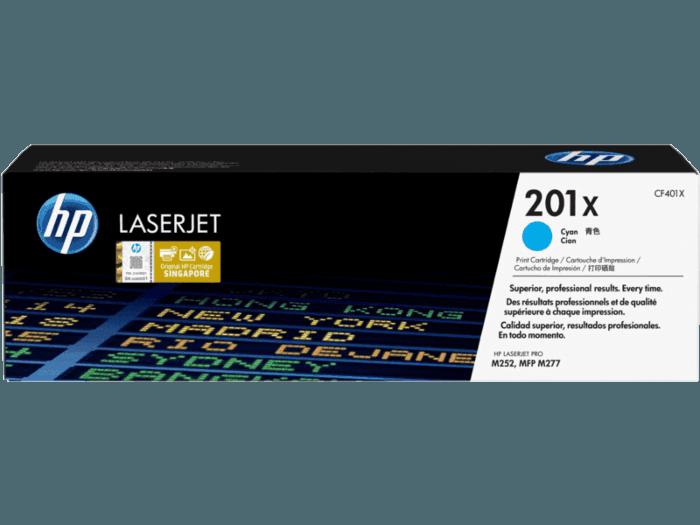 HP 201X High Yield Cyan Original LaserJet Toner Cartridge