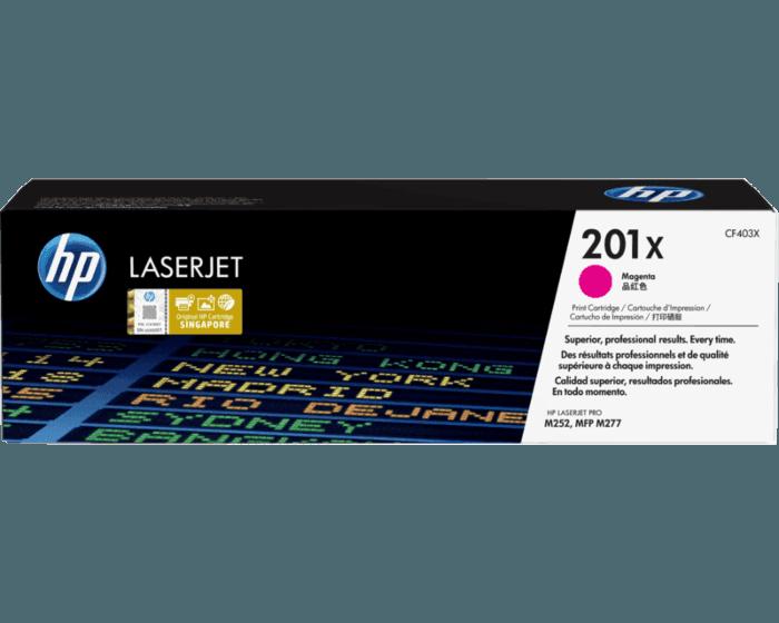 HP 201X High Yield Magenta Original LaserJet Toner Cartridge