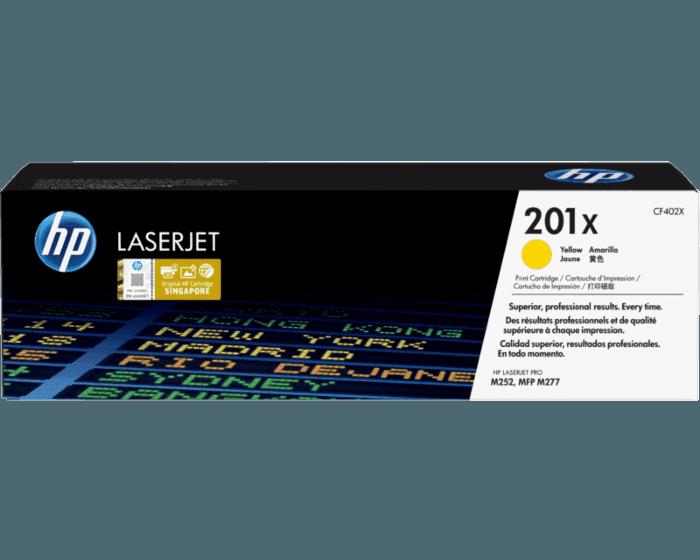 HP 201X High Yield Yellow Original LaserJet Toner Cartridge