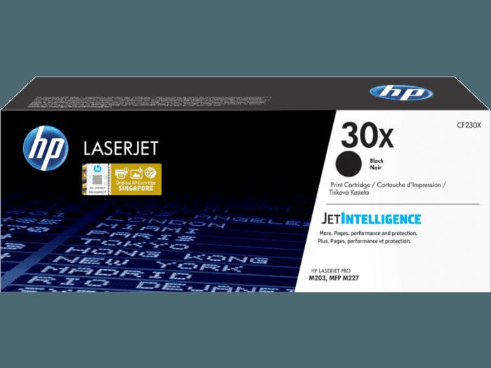 HP 30X High Yield Black Original LaserJet Toner Cartridge