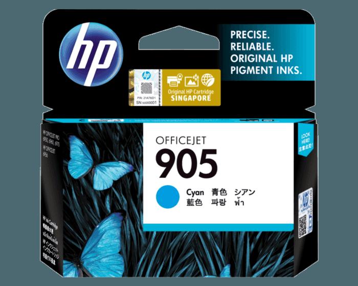 HP 905 Cyan Original Ink Cartridge