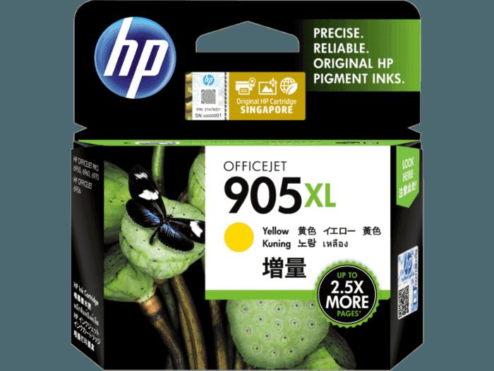 HP 905XL High Yield Yellow Original Ink Cartridge