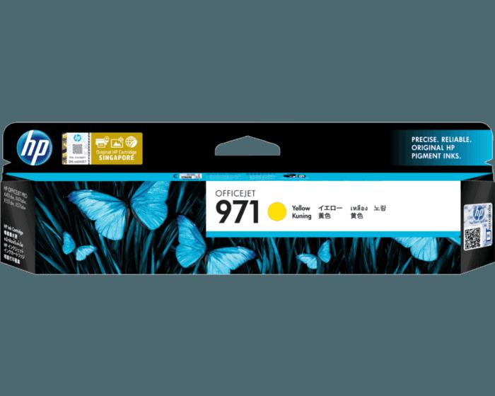 HP 971 Yellow Original Ink Cartridge