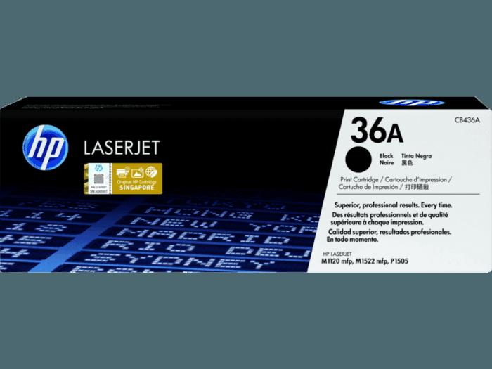 HP 36A 2-pack Black Original LaserJet Toner Cartridges