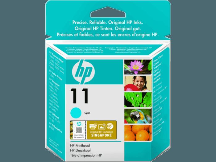 HP 11 Cyan Original Ink Cartridge