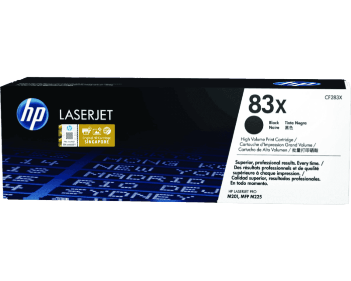 HP 83X High Yield Black Original LaserJet Toner Cartridge