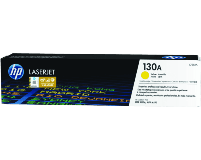 HP 130A Yellow Original LaserJet Toner Cartridge