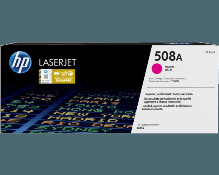 HP 508A Magenta Original LaserJet Toner Cartridge
