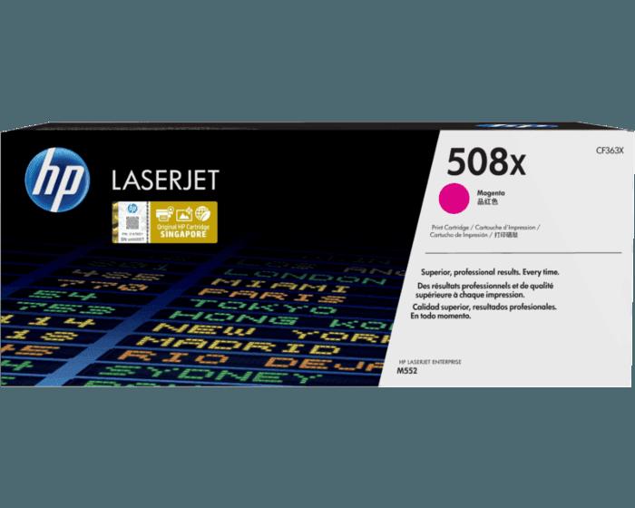 HP 508X High Yield Magenta Original LaserJet Toner Cartridge