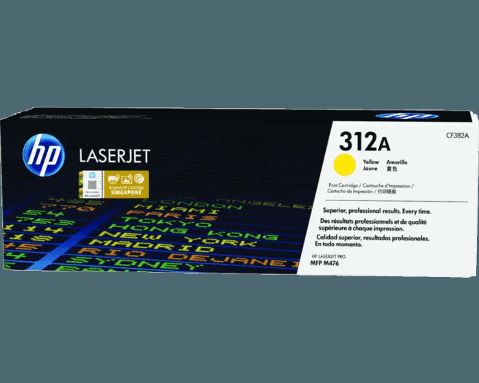 HP 312A Yellow Original LaserJet Toner Cartridge