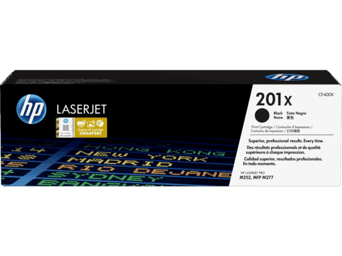 HP 201X High Yield Black Original LaserJet Toner Cartridge