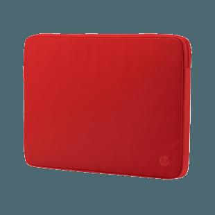 HP 14 in Spectrum Red Sleeve