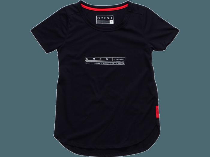 8c06c5b81b06ce OMEN by HP Dynamo Women's Black Short Sleeve Tee (Large) | HP Online ...